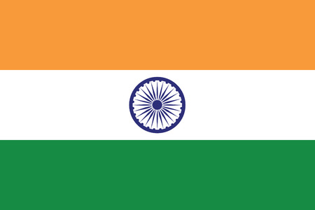 india flag: vector background of india flag