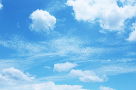 nimbi: cloudy blue sky