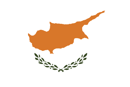 cyprus: vector of cyprus flag