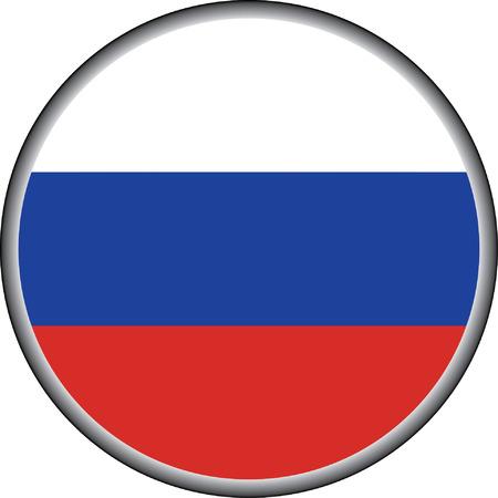 vector knop van Rusland badge Stock Illustratie