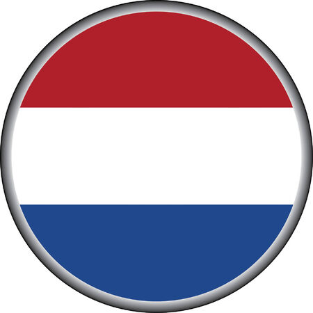 drapeau hollande: bouton de vecteur de hollande drapeau badges