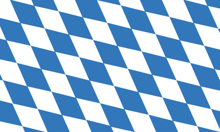 vector background of free state of bavaria flag Vector