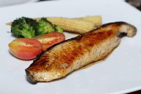 bluefish: japanese grilled cod fish
