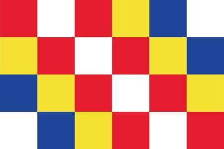 antwerp: vector background of antwerp province flag (belgium )