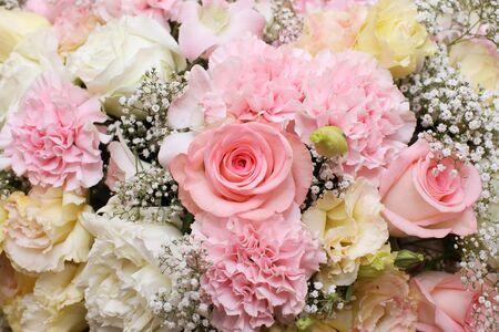 background of flower bouquets 版權商用圖片