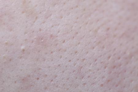 fond de visage féminin texture de la peau