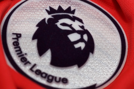 lionhead: BANGKOK, THAILAND - MAY 29, 2016: the logo of the new english premier league logo on May 29. 2016 in Bangkok Thailand.