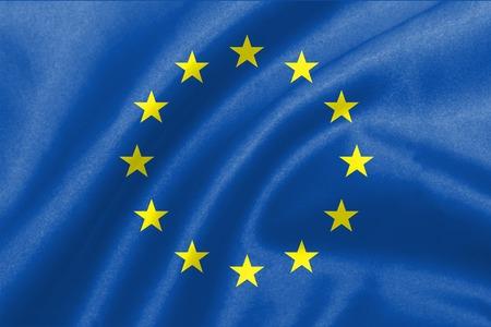 back ground of eu flag