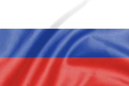 red square moscow: background of ripple russia flag Stock Photo