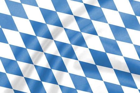 bavaria: bavaria flag Stock Photo