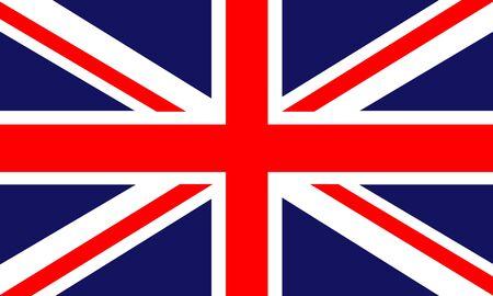 u k: Presentation of design for theme vector of uk flag