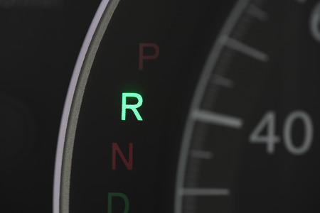car speedolimit dashboard with r  sign Stok Fotoğraf - 82752817