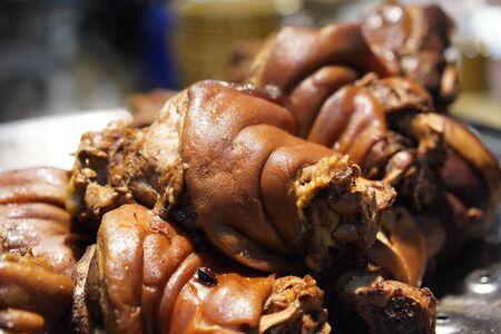 Thai Style Stewed Pork Leg in Gravy Sauce