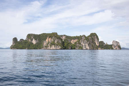 View of Hong Island in Krabi Thailand