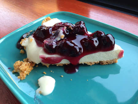chese: Blueberry chese cake