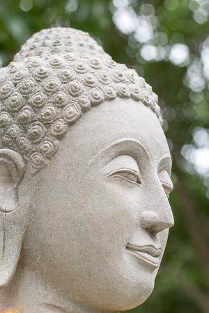 budha: The Seated Buddha sandstone texture Stock Photo