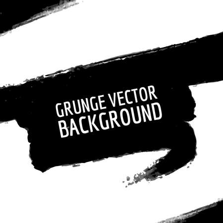blob: Abstract grunge blob background. Vector grunge shape. Vector abstract banner. Black grunge watercolor splatter. Hand drawn ink blob element.