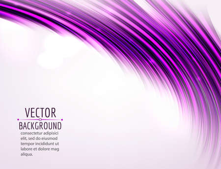 purple abstract background: Abstract colorful wave on white background. Shiny bright curves background. Vector eps10.