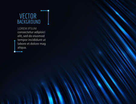 esp: Abstract dark wave background. Vector abstract curve, vibrant glossy background.