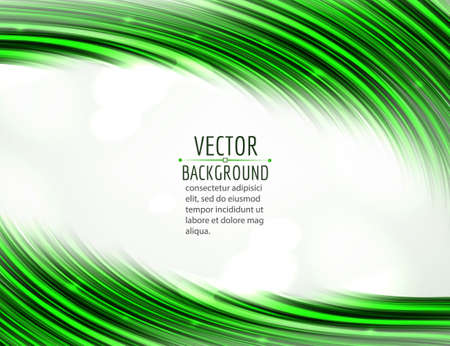 move: Abstract wave on white background. Bright curve flow. Vector design. Illustration