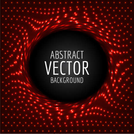 vactor: Vactor lights template. With place for text. Glowing abstract background.