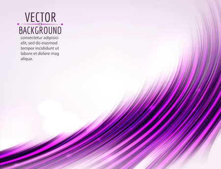 shine background: Abstract colorful wave on white background. Shiny bright curves background. Vector eps10.