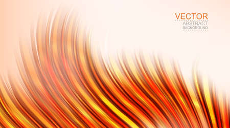 curve: Vector. Abstract smooth background, curve composition.