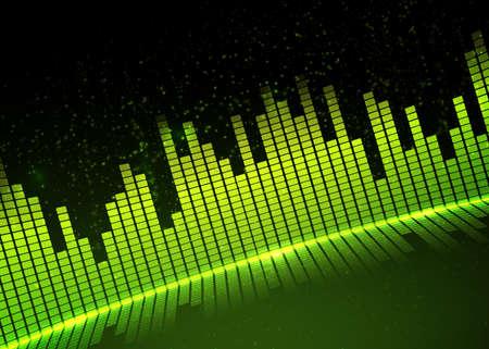 Music equalizer background. Vector illustration. Illustration