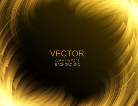 Vector background. Abstract neon glowing curves. Digital graphic. Иллюстрация