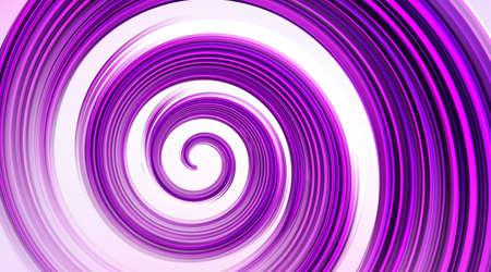ベクトルの背景。白の抽象的な紫渦巻きの模様。