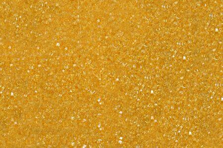 Macro of orange sugar crystals for a background