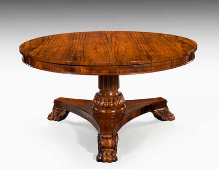 Antieke Ronde Tafel Te Koop.Oude Antieke Vintage Mahonie Leer Bedekte Round Ronde Tafel