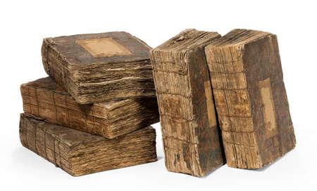 Five very old books 免版税图像 - 144711551