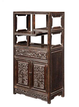 Chinese cabinet storage chest 免版税图像 - 137846678
