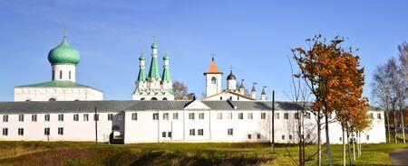 alexander: The Holy Trinity Alexander Svirsky monastery in Leningrad region