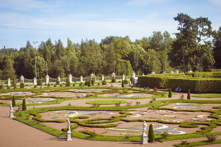 beautification: Lower garden of the Palace and Park ensemble of Oranienbaum in Lomonosov Editorial