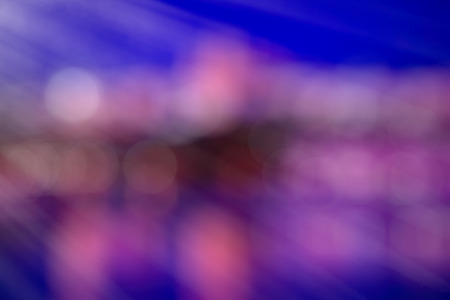 substrate: Bright abstract background in shades of blue-violet with bokeh. Festive substrate for holiday text