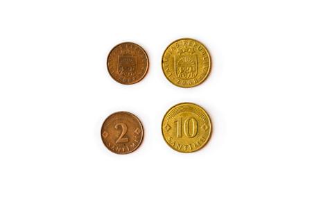 1 Lats Münze Latvijas Republika Münzen Konfessionen Ein Lats
