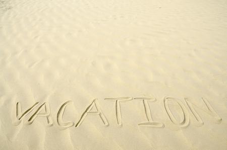 sandhills: Vacation written in golden sand waves