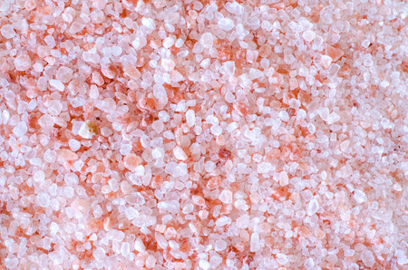 Pink Himalayan Coarse Crystal Salt  Banco de Imagens