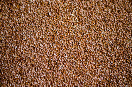 Healthy Flax Seed Background Banco de Imagens - 26467443