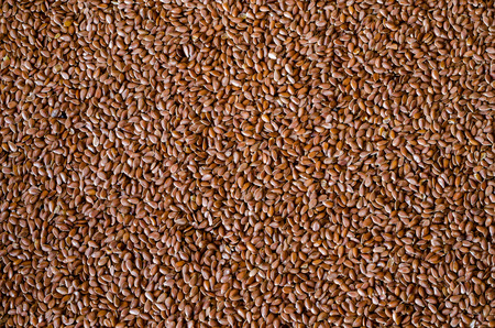 Healthy Flax Seed Background