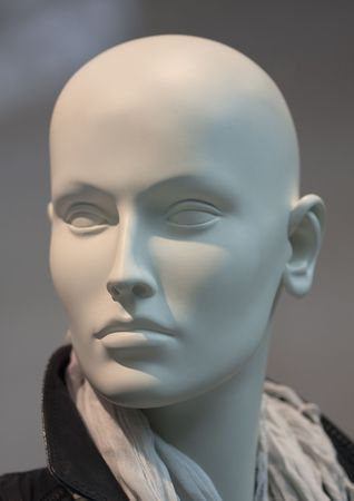Head of mannequin with low depth of field photo