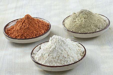 3 粘土, グリーン, ホワイト, レッド