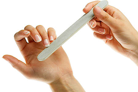 - manicure nail care- a nail-file file nails photo