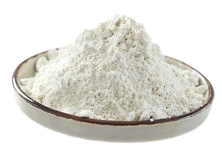 白い粘土粉末