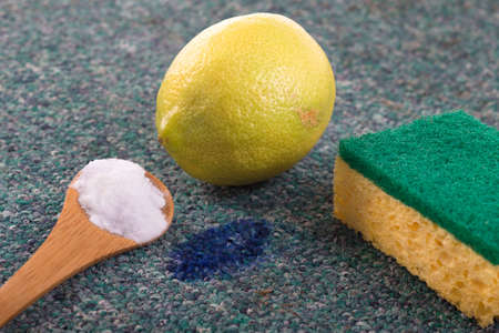 bicarbonate: naturl cleaning product with sodium bicarbonate Stock Photo