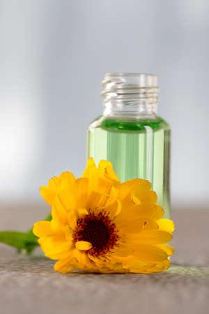 Marigold essential oil photo