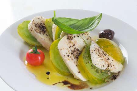 geen: Caprese Salad , Geen Tomato Mozzarella