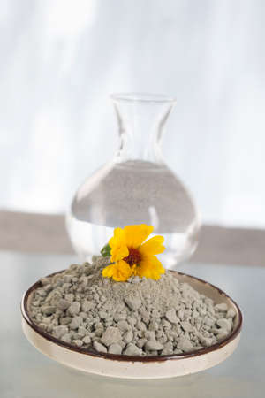 bodycare: Clay preparation for bodycare